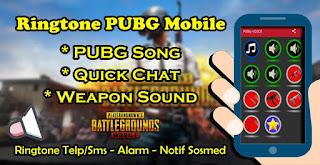 Cara Pasang Ringtone,Musik, Quick Chat Dan Suara Senjata PUBG Mobile