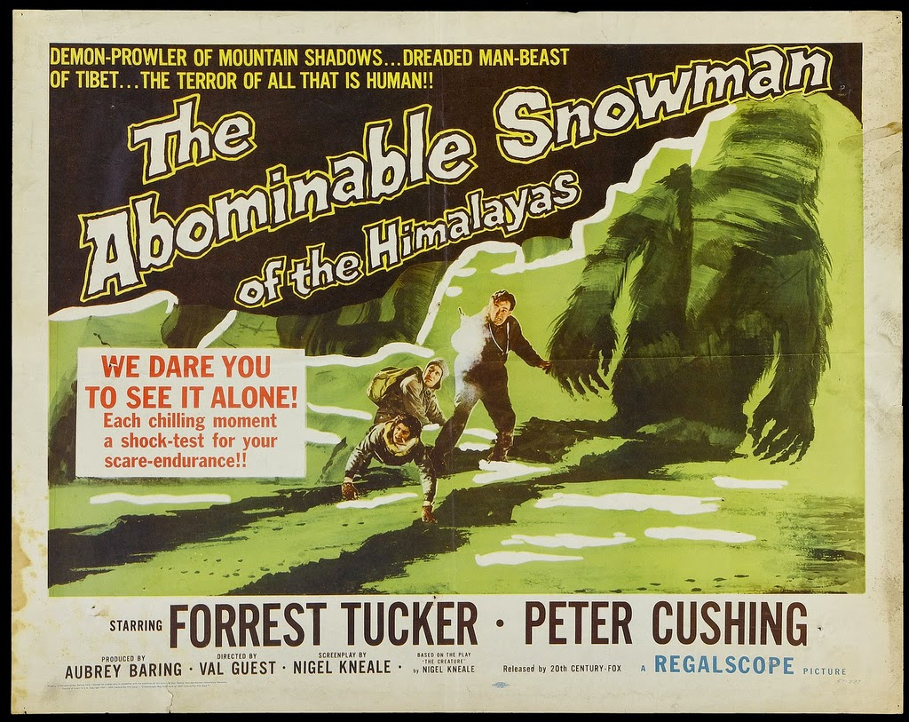 IT CAME FROM OUTER SPACE (1953), THE ABOMINABLE SNOWMAN