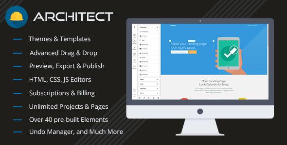 Architect v2.0.6 - HTML and Site Builder