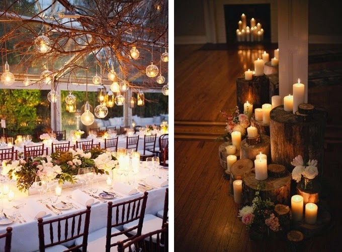 Candles Creative Lighting Ideas For Your Wedding Reception