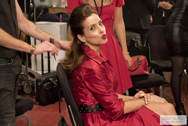 Bea Jarrin en backstage Jordi Dalmau