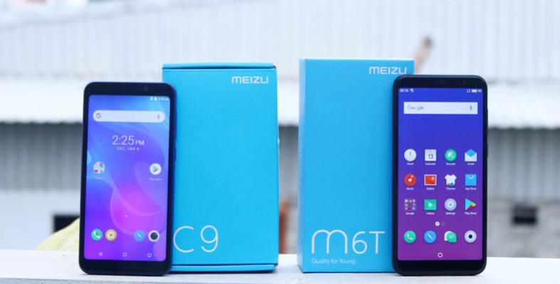 Meizu C9 dengan Layar 5,45 Inci & Face Unlock Harga Rp1,2 Juta
