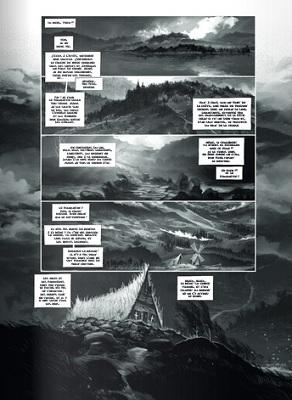 """page de """"PEER GYNT ACTE I"""" par Antoine Carrion d'après Ibsen chez Soleil"""
