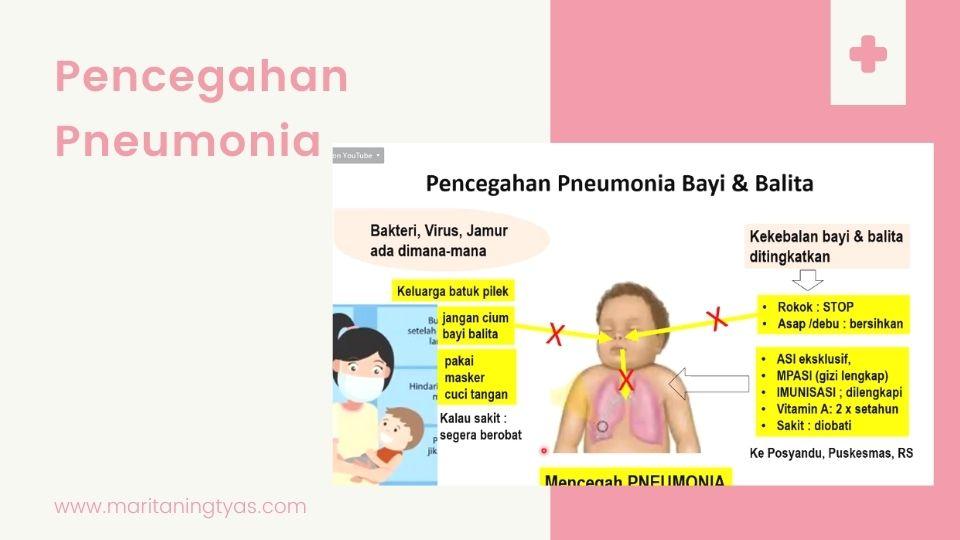 pencegahan pneumonia