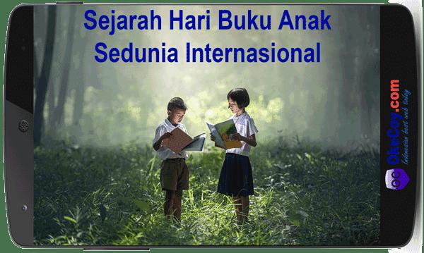 Sejarah Hari Buku Anak Sedunia Internasional