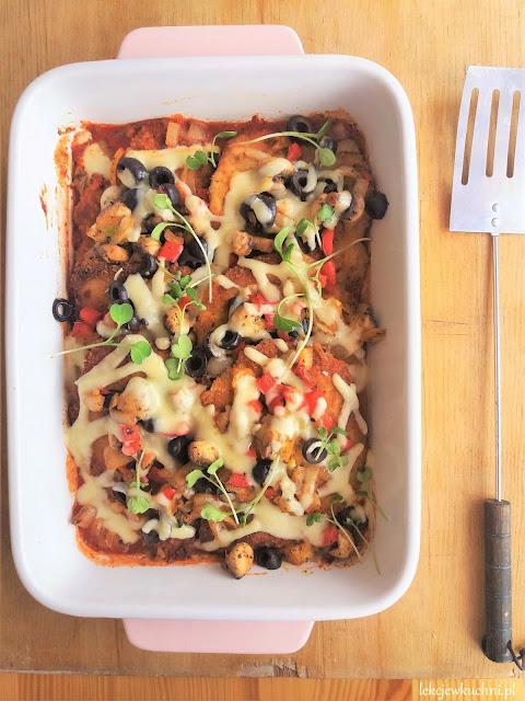 Kotlety schabowe zapiekane a la pizza