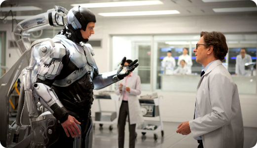 Writer of Pop: 'Robocop' Entertains Without Taking Itself ...