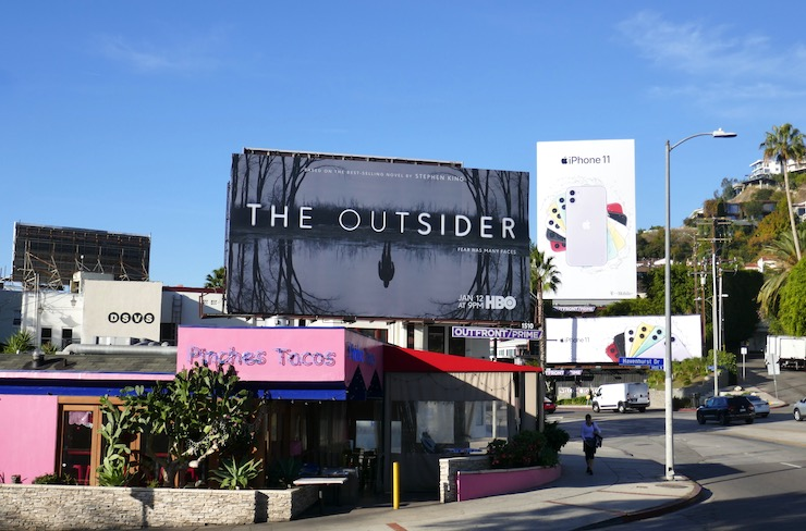 Outsider HBO series billboard