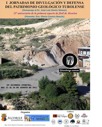 I Jornadas de Divulgación y Defensa del Patrimonio Geológico Turolense