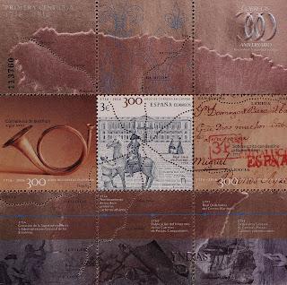 300 AÑOS DE CORREOS EN ESPAÑA