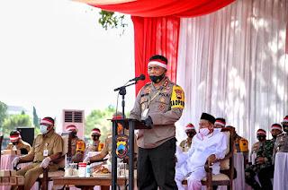Kapolda Jateng Merajut Kebhinekaan dalam Bingkai NKRI di Lapangan Benteng VastenBurg
