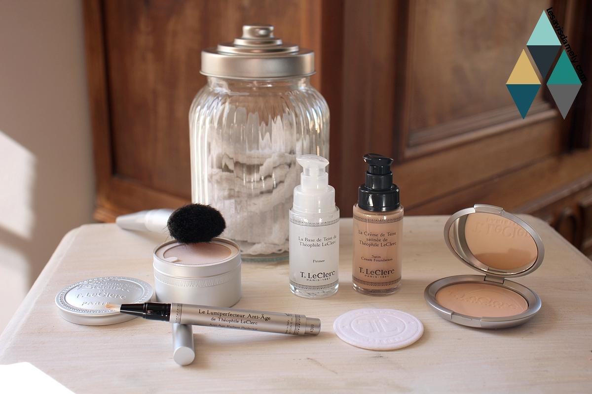 avis et test routine teint maquillage T.Leclerc