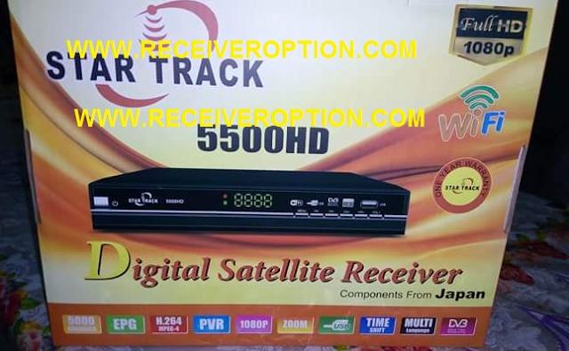 STAR TRACK 5500HD RECEIVER CCCAM OPTION