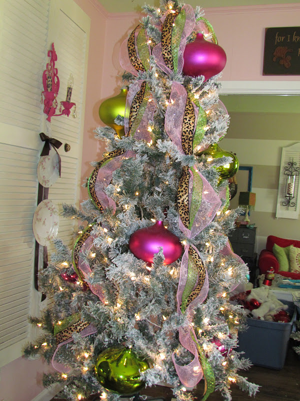 Related image with how to put mesh ribbon on real christmas tree