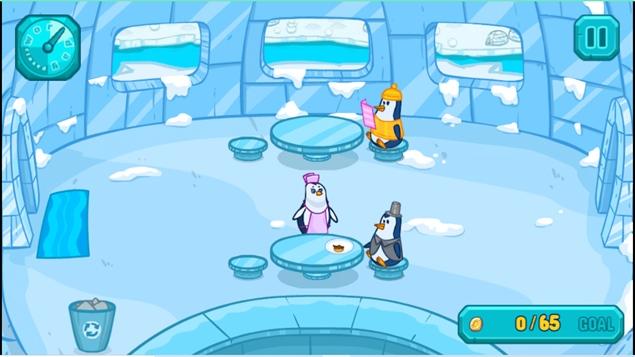 game online gratis Penguin Cafe