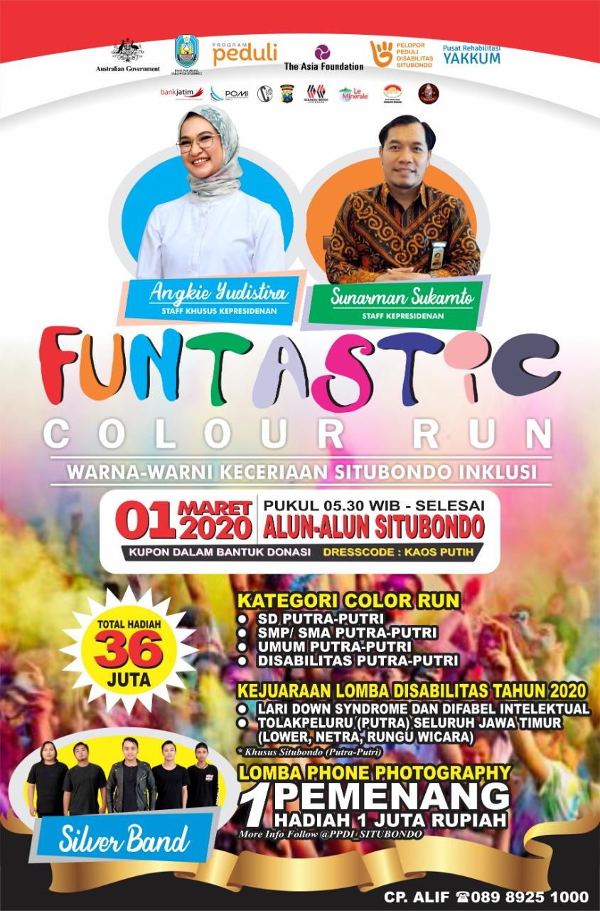 Funtastic Colour Run • 2020