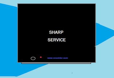 Menu Servis TV SHARP
