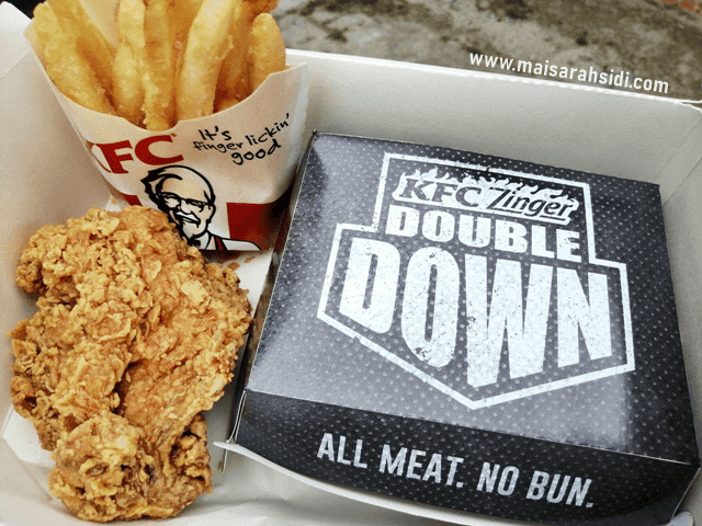 KFC Zinger Double Down