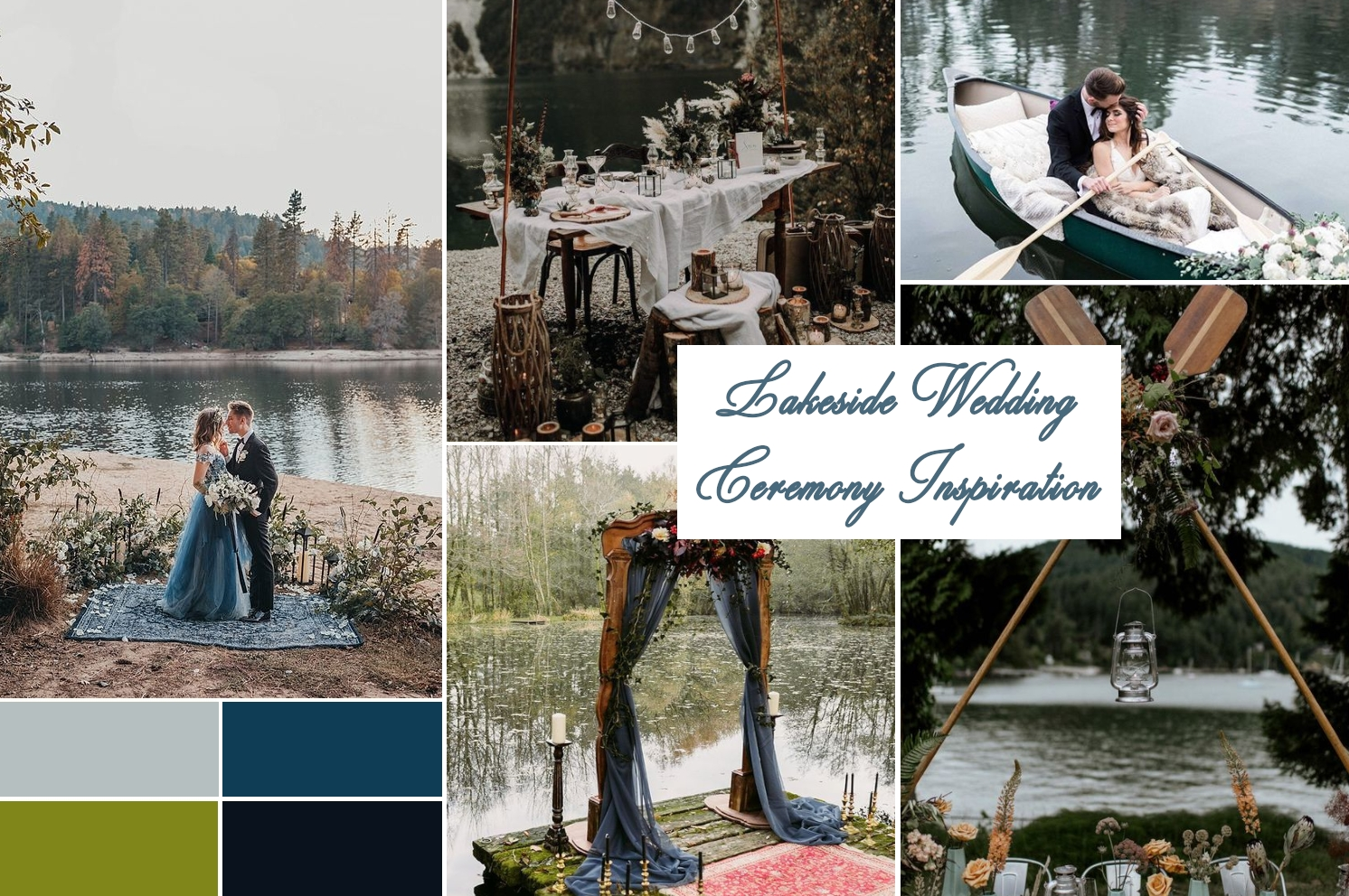 nature wedding theme inspiration