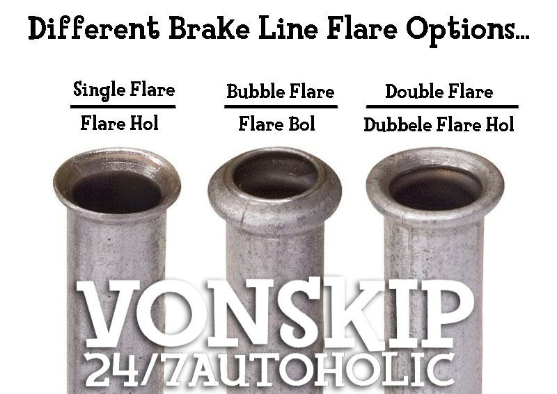 How To Flare A Brake Line >> 247 Autoholic Thursday Tech Specs Brake Line Flare Differences