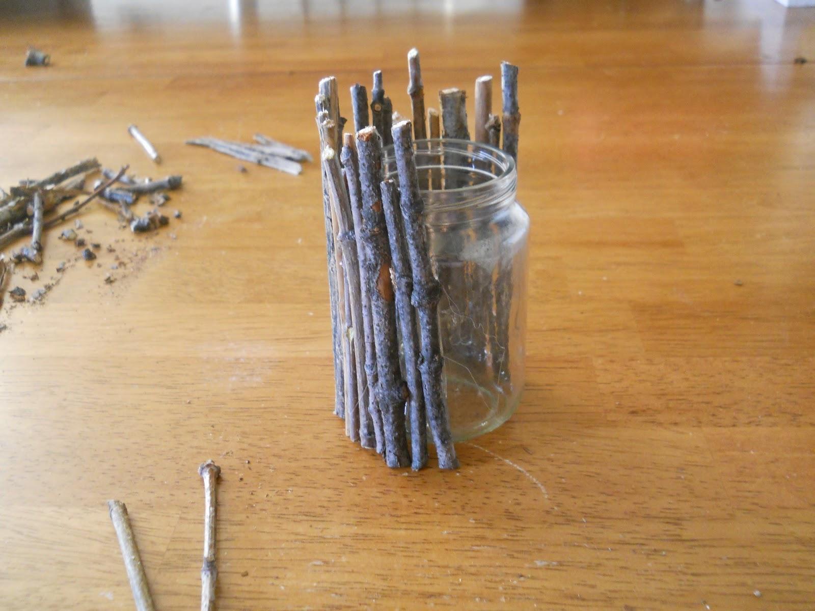 Motherhood and Money: DIY: Stick Vase