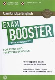 [PDF+CD] Exam Booster (for First and First for schools) with answers