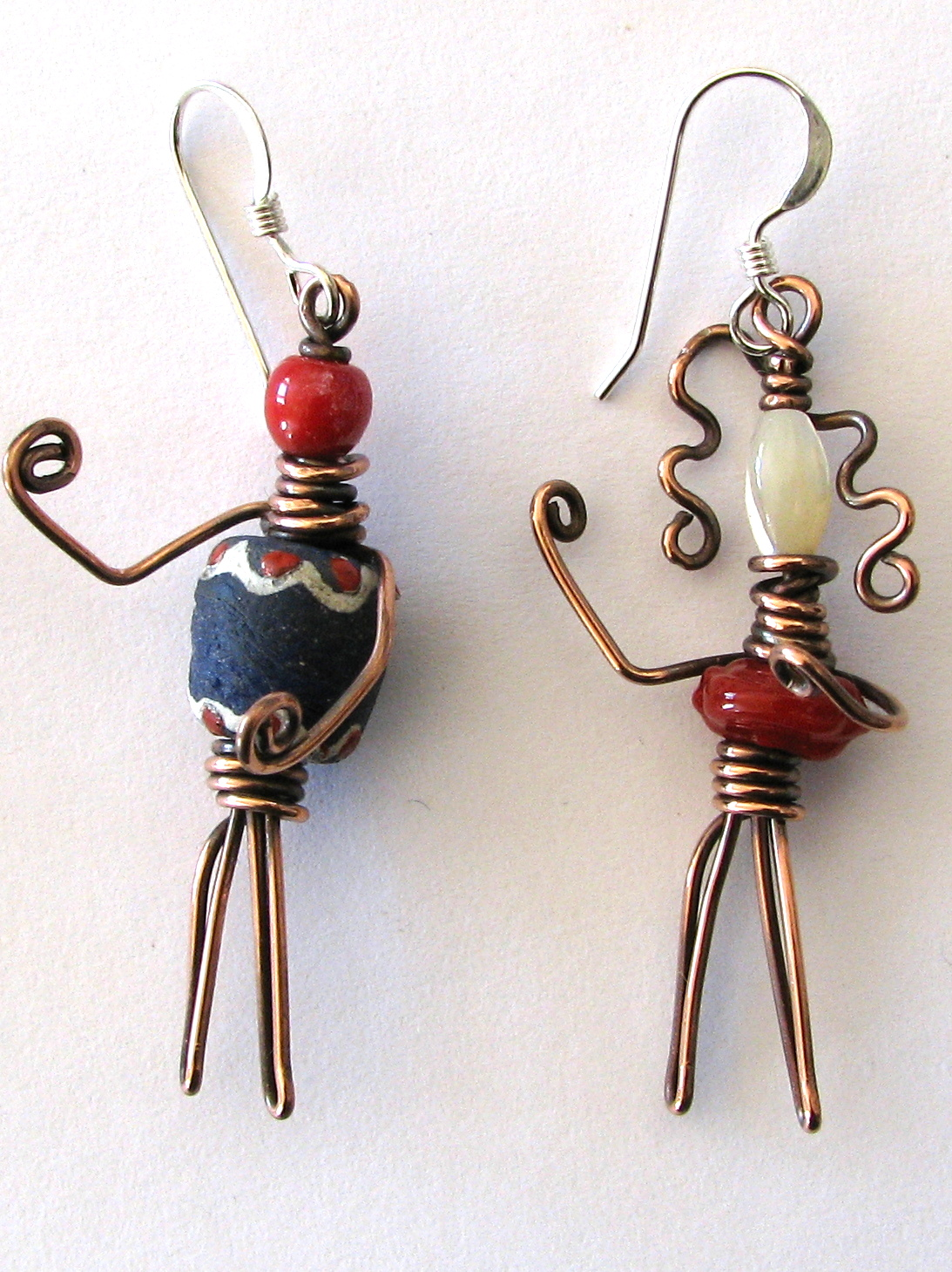 The Bead People Earrings and How they began
