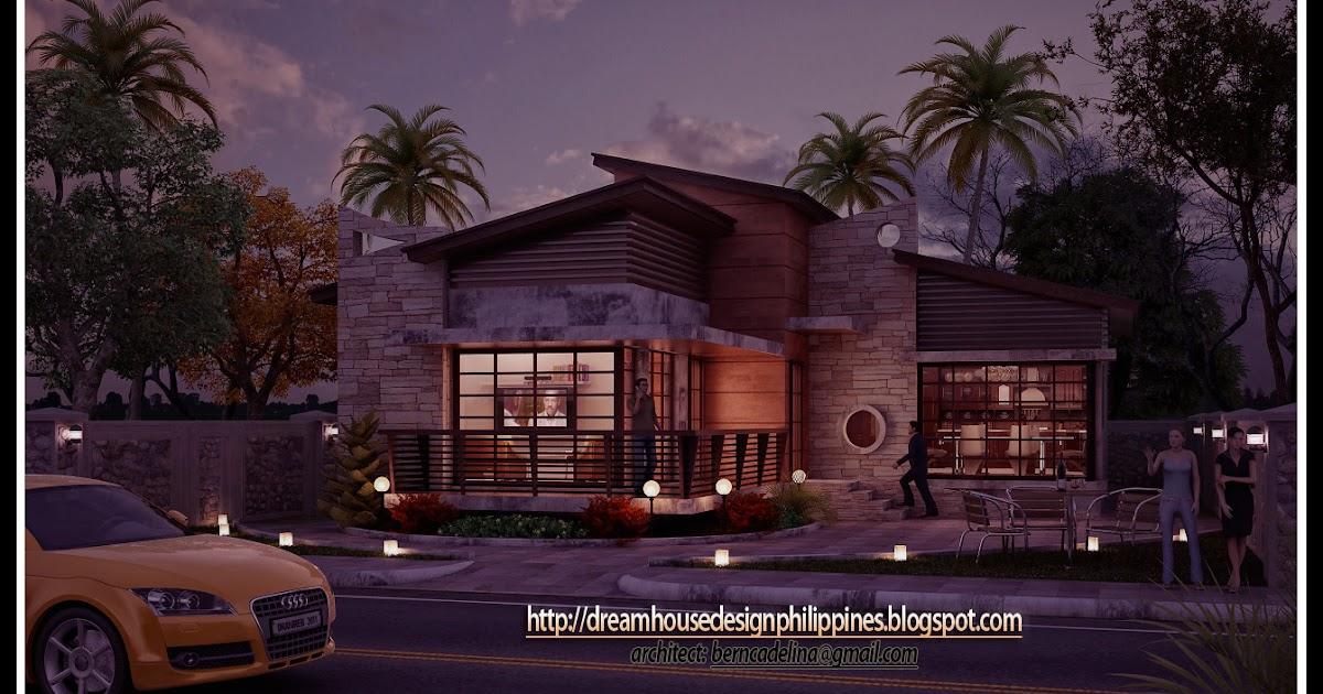 Philippine Dream House Design : Post Modern House-2