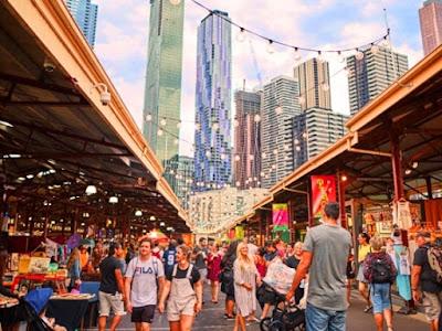 Queen Victoria Market Tempat menarik di melbourne australia untuk bercuti