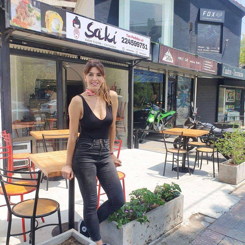 Mariana Marino cumplió 40 años y abrió restaurante de sushi