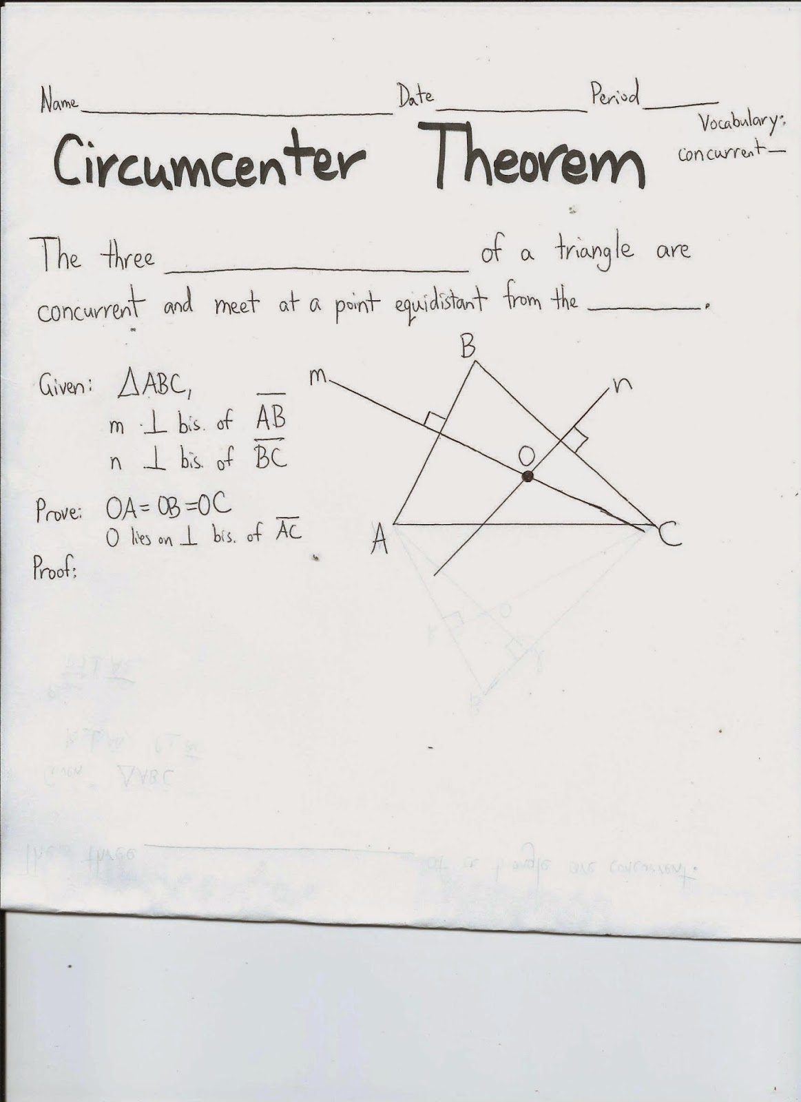 Worksheet On Triangle Congruence Postulates