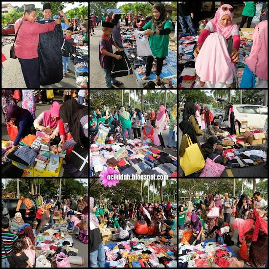 #freemarketBTR di Masjid Saidina Osman Al-Affan, Bandar Tun Razak, Kuala lumpur