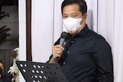 Wagub Melayat Dirumah Duka Alm. Kapolres Minahasa AKBP Henzly Moningkey SIK MSi