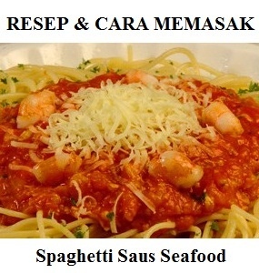 Spaghetti Saus Seafood