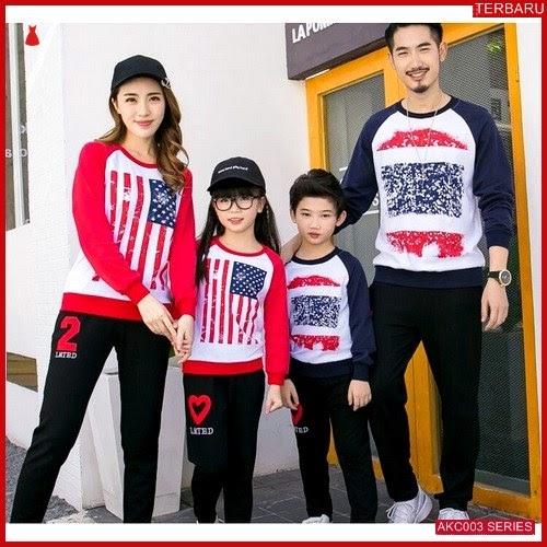 AKC003S141 Sweater Couple Flag Anak 003S141 Keluarga 2 BMGShop