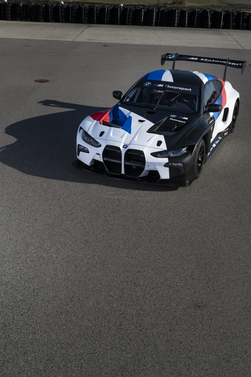 The New BMW M4 GT3