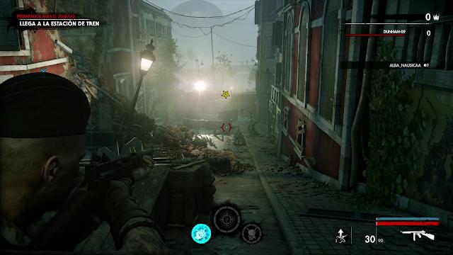 zombie army 4 graficos