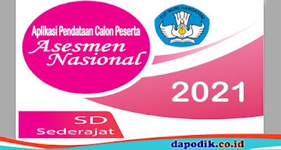Peserta Asesmen Nasional (AN) Tahun 2021 Jenjang SD Sederajat