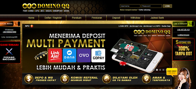 Agen Judi QQ Deposit Paling Murah Kualitas Nomor 1