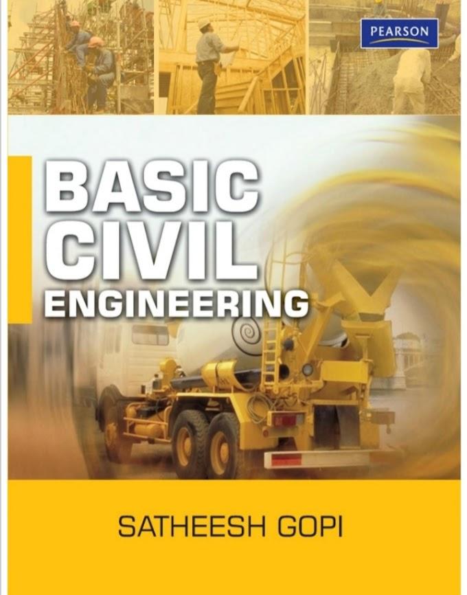 [PDF] Basic Civil Engineering by Satheesh Gopi free Pdf download