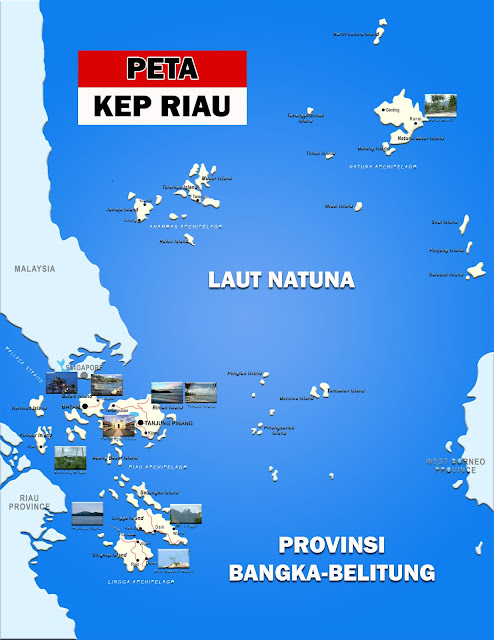 Gambar Peta Provinsi Kepulauan Riau