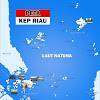 Peta Kepulauan Riau lengkap 5 Kabupaten 2 Kota