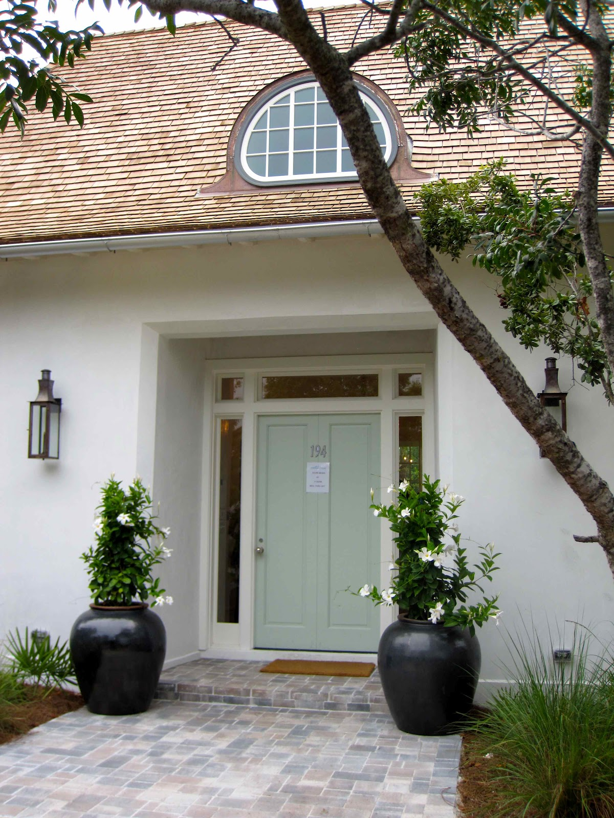 Tour of coastal living 39 s 2012 ultimate beach house for Big entrance door