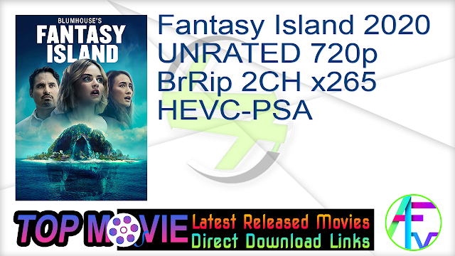 Fantasy Island 2020 UNRATED 720p BrRip 2CH x265 HEVC-PSA Movie Online