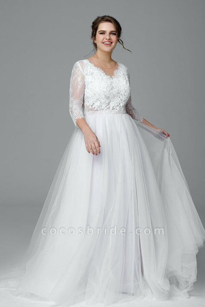 https://www.cocosbride.com/plus-size-elegant-lace-tulle-a-line-wedding-dress-g543?cate_2=52