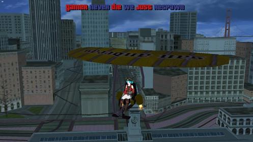 Hang Glider Jetpack Mod Android screenshots