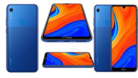 Huawei Y6s - 6.09-inch 64GB/3GB Dual SIM 4G Mobile Phone - Orchid Blue