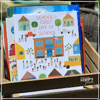 Back to School Books for kindergarten and first grade - School's First Day of School