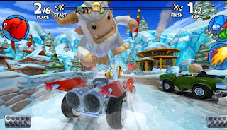 تحميل لعبة Beach Buggy Racing 2 مهكرة