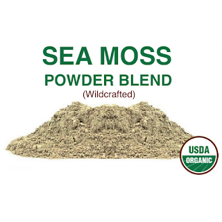 Sea moss powder blend wildcrafted organic